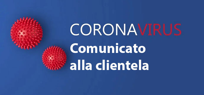 Corona Virus Comunicato