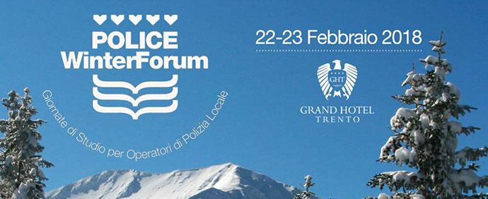 Police Winter Forum Banner